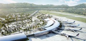 Voiture louée à l'aéroport